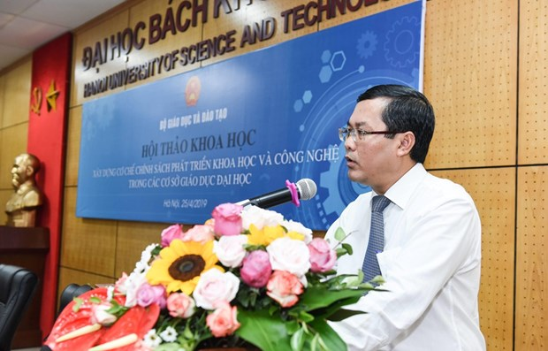 Developing strong research groups to promote scientific research hinh anh 1
