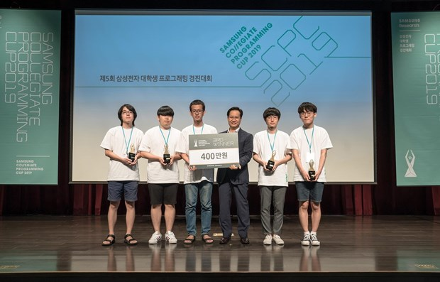 Vietnam makes breakthroughs at Samsung Collegiate Programming Cup 2019 hinh anh 1