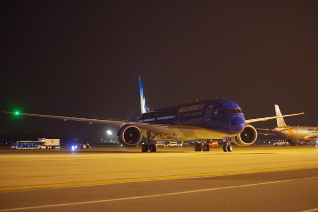 Vietnam Airlines welcomes its first Boeing 787-10 dreamliner hinh anh 2