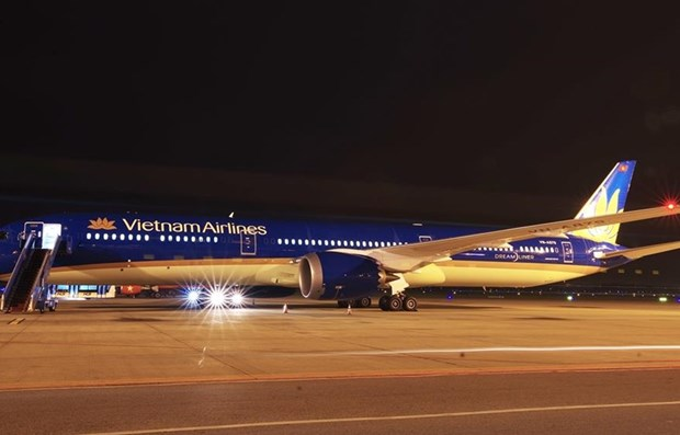Vietnam Airlines welcomes its first Boeing 787-10 dreamliner hinh anh 1