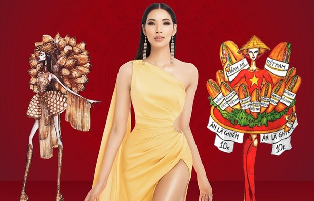 Impressive national costume designs for Miss Universe 2019's contest hinh anh 1