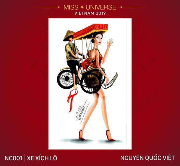 Impressive national costume designs for Miss Universe 2019's contest hinh anh 2