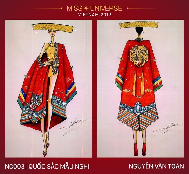 Impressive national costume designs for Miss Universe 2019's contest hinh anh 4