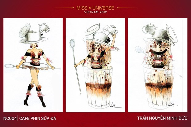 Impressive national costume designs for Miss Universe 2019's contest hinh anh 5