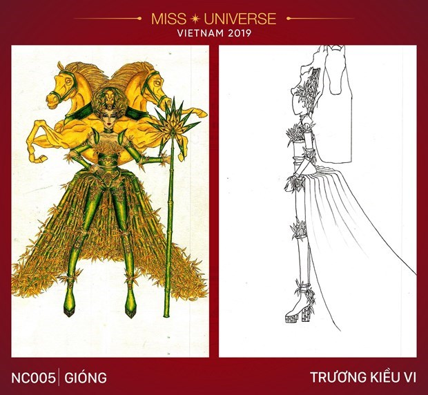 Impressive national costume designs for Miss Universe 2019's contest hinh anh 6