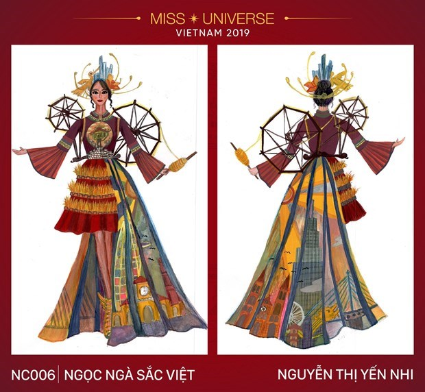 Impressive national costume designs for Miss Universe 2019's contest hinh anh 7
