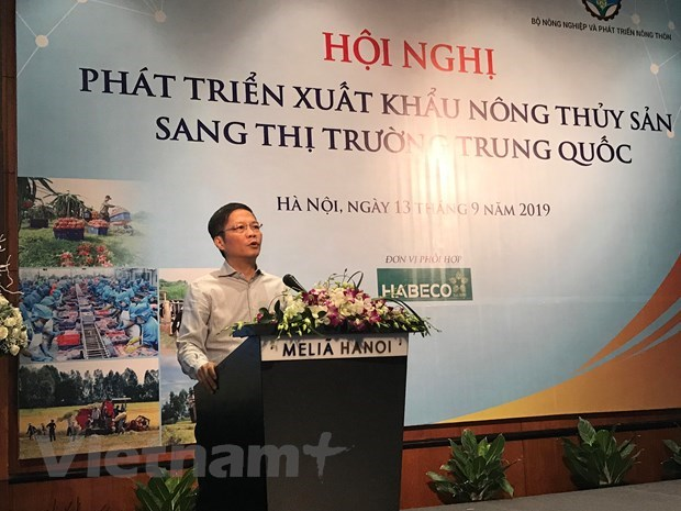 Joint efforts made to boost agro-fishery export to China hinh anh 1