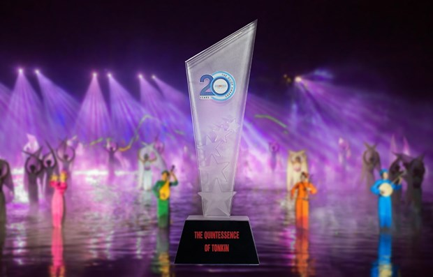 Spectacle 'The Quintessence of Tonkin' wins The Guide Awards 2019 hinh anh 1