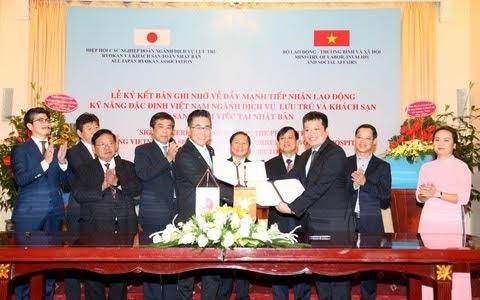 Deal brings more opportunities to VN labourers to work in Japan hinh anh 1