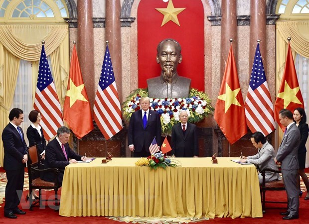 Vietnam-US trade relations thriving after 25 years hinh anh 1