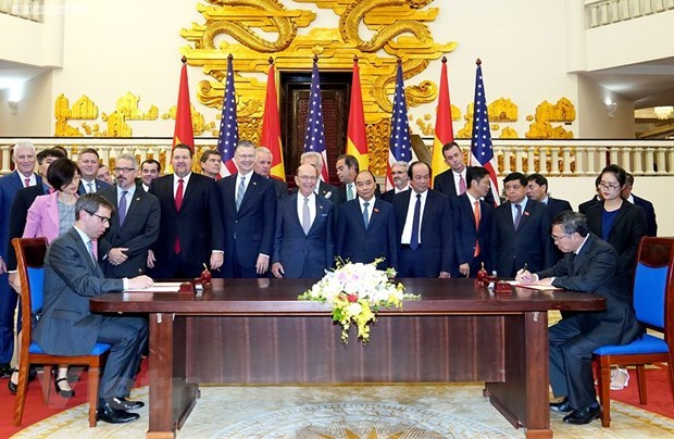 Vietnam-US trade relations thriving after 25 years hinh anh 2