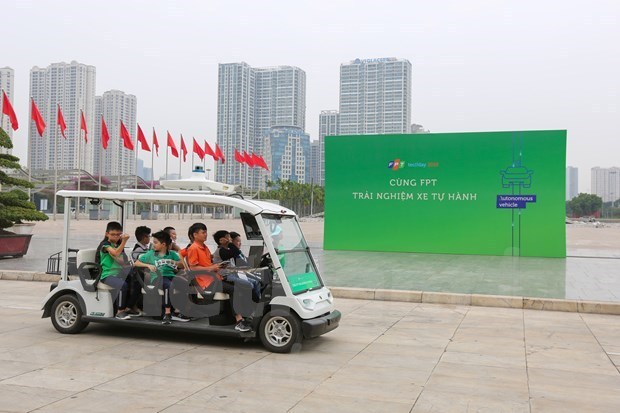 FPT Techday 2019 shows off smart technologies hinh anh 14