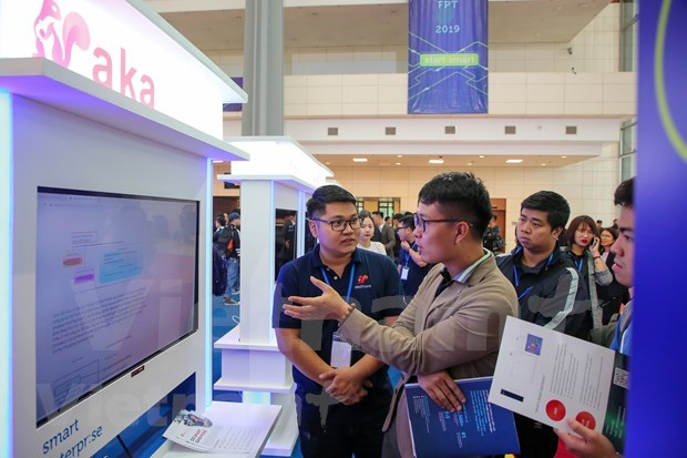 FPT Techday 2019 shows off smart technologies hinh anh 6