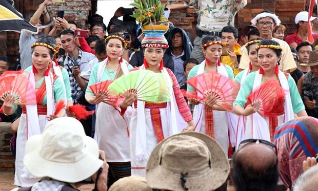 Cham people honour Gods, ancestors at Kate Festival hinh anh 1