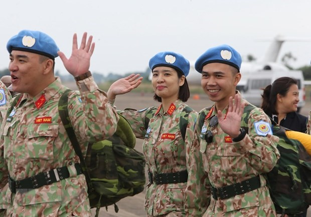 Vietnam can deploy helicopters in UN peacekeeping missions hinh anh 1