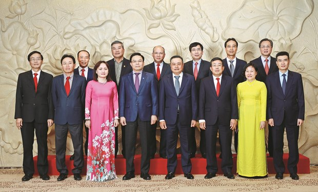 PetroVietnam Party Committee sails through difficulties of last five years hinh anh 1