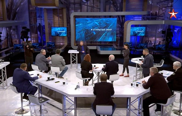 Vietnam's COVID-19 combat highlighted on Russia's popular talk show hinh anh 1