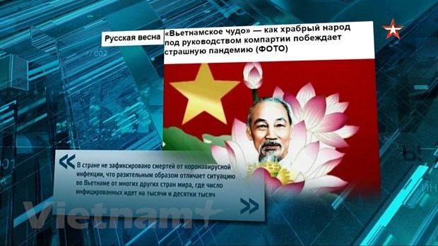 Vietnam's COVID-19 combat highlighted on Russia's popular talk show hinh anh 2