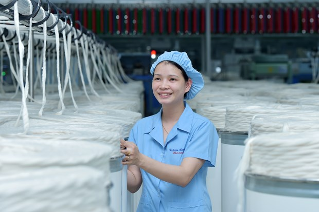 Vinatex: Garment export may decrease 20 percent due to COVID-19 impact hinh anh 1