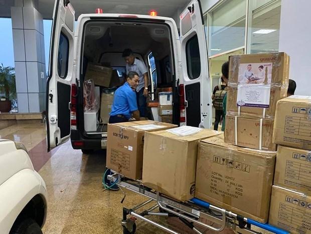 Special flight brings Vietnamese citizens home from Equatorial Guinea hinh anh 2