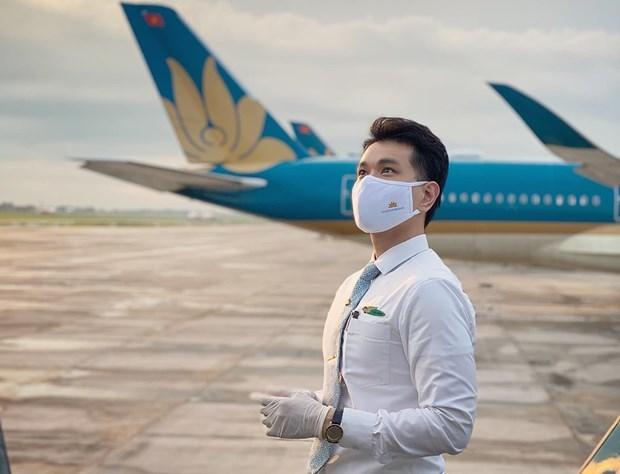 Flight attendant talks about Vietnam Airlines' repatriation flight from Equatorial Guinea hinh anh 1