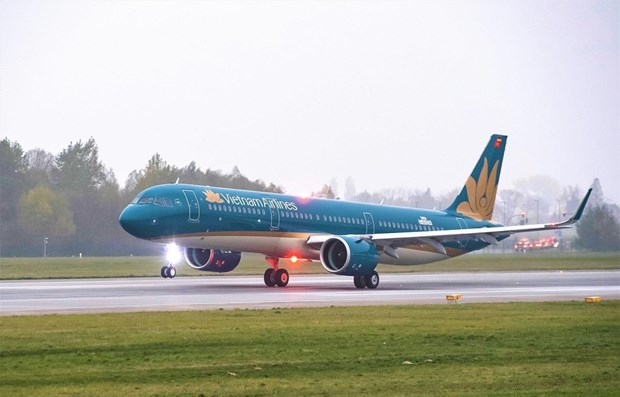 Vietnam Airlines adjusts flights from/to Vinh airport due to storm Noul hinh anh 1