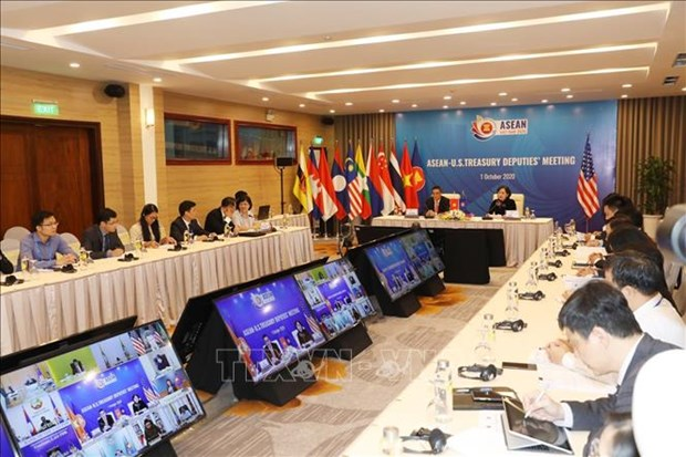 ASEAN Finance and Central Bank Deputies' Meeting held online hinh anh 1