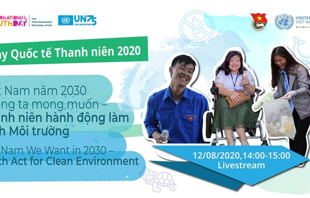 Vietnamese youths act for clean environment hinh anh 1