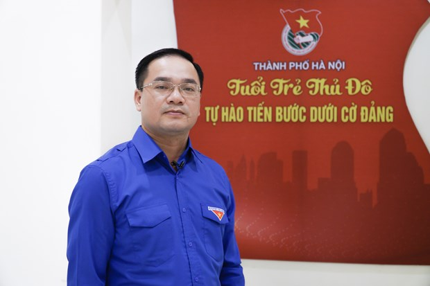 Hanoi's youth carry forward traditions in national construction, defence hinh anh 1