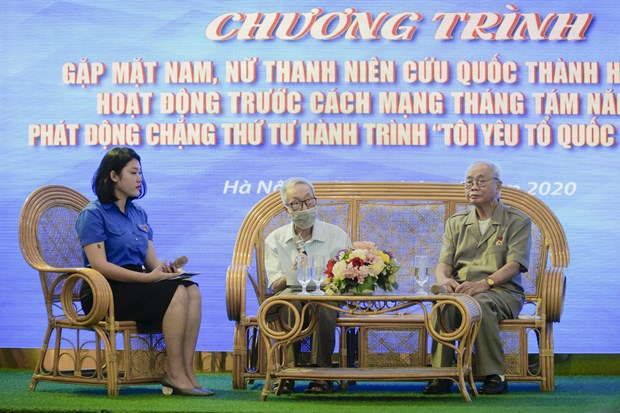 Those who inherit the August Revolution spirit hinh anh 1