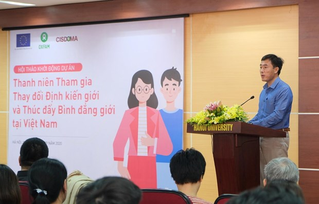 Young people essential to helping erase gender bias hinh anh 1