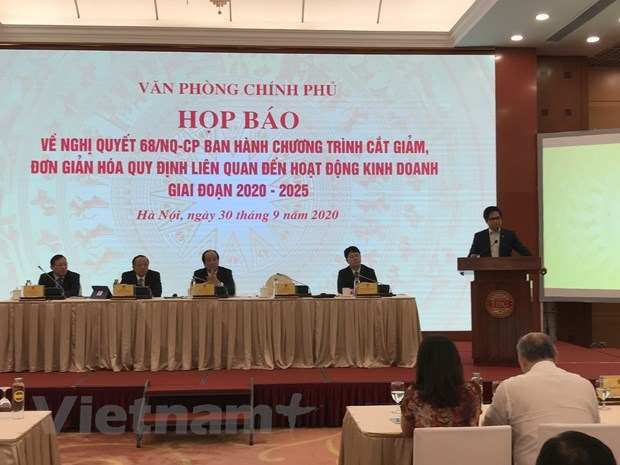 Resolution 68 promotes new reform on business regulations hinh anh 2