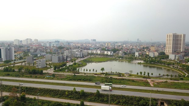 Bac Giang city strives to transform itself into smart, green city hinh anh 1