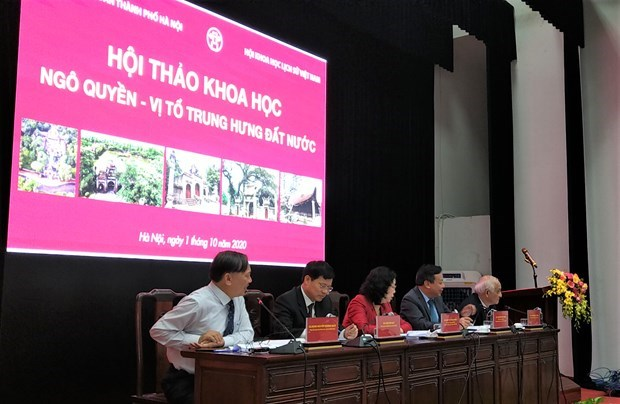 Ideas on building Ngo Quyen temple in Co Loa hinh anh 1