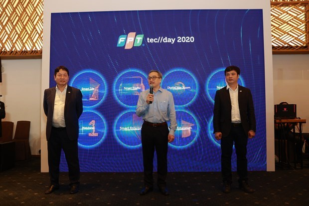 FPT Techday seeks solutions to business digital transformation hinh anh 1