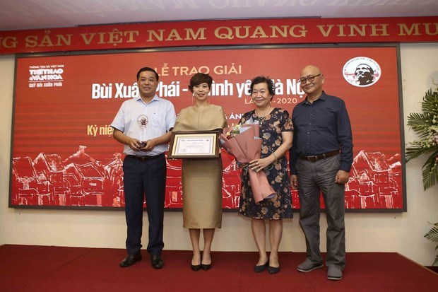 Bui Xuan Phai – For Love of Hanoi Awards honours music composer Phu Quang hinh anh 3