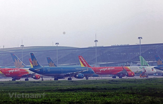 Int'l commercial flights yet to take off hinh anh 1