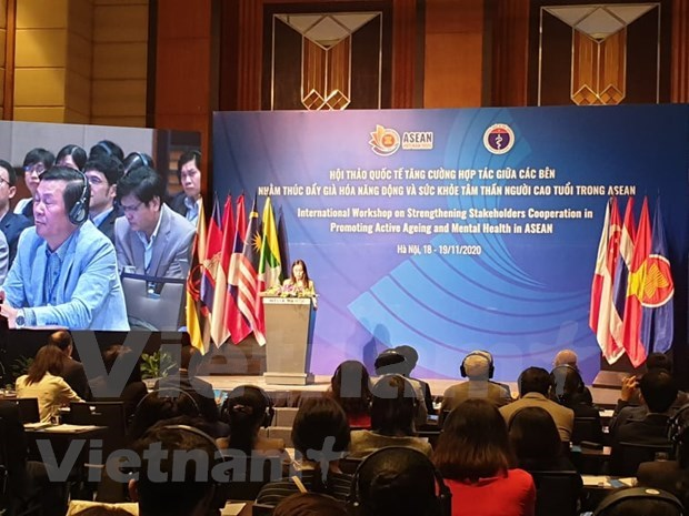 Int'l workshop seeks to promote active ageing, mental health in ASEAN hinh anh 2