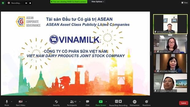 Vinamilk honoured as ASEAN asset class hinh anh 1