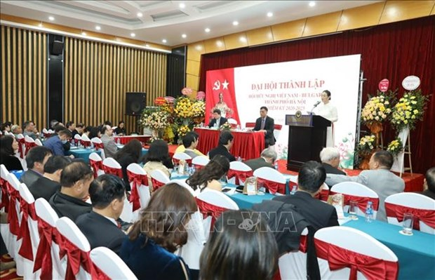 Hanoi's Vietnam-Bulgaria Friendship Association established hinh anh 1