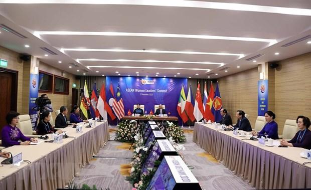 Women's empowerment initiatives - Highlight of Vietnam's ASEAN Chairmanship hinh anh 1