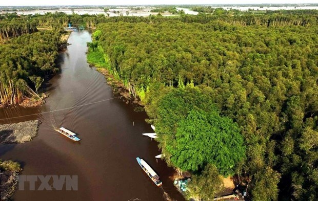 New planning views climate change as opportunity for Mekong Delta hinh anh 1
