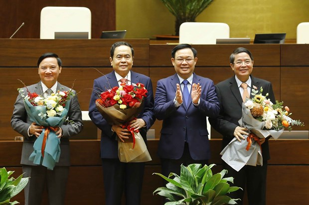 National Assembly elects three new Vice Chairpersons hinh anh 1