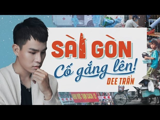 Celebs spread cheerful messages in pandemic hotspot of HCM City hinh anh 4