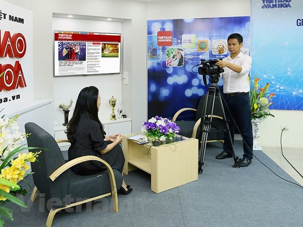 Press sector struggling to deal with difficulties, complete tasks hinh anh 1