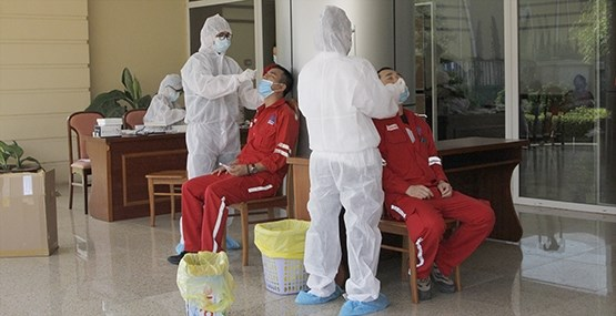 PetroVietnam: vaccination made top priority hinh anh 2