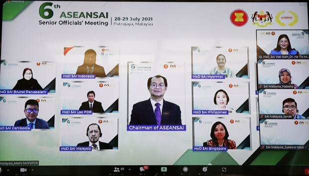 Vietnam serves as Chair of ASEANSAI Strategic Planning Committee for 2022-2023 hinh anh 2