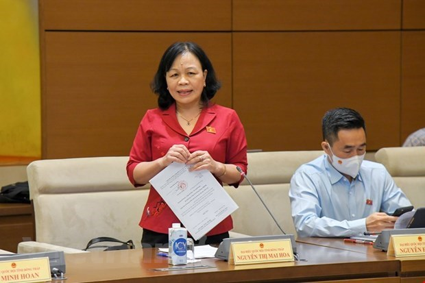 Vocational training needed for sustainable poverty reduction: NA deputies hinh anh 2