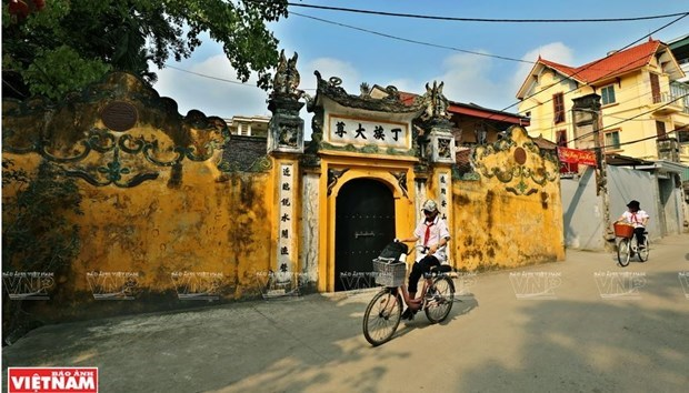 Centuries-old cultural space and traditional crafts in Cu Da Village hinh anh 1