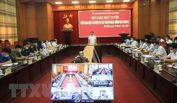 Thai Binh exerts efforts for pandemic control, economic development hinh anh 1
